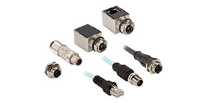 M12 X-Code Connector Improves Data Transfer
