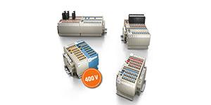 Klippon Connect for optimum control voltage distribution