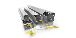 Cable ducts for organised wire management