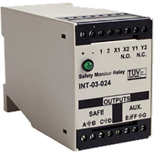Edwards Signaling INT-03 Series Relays Distributors