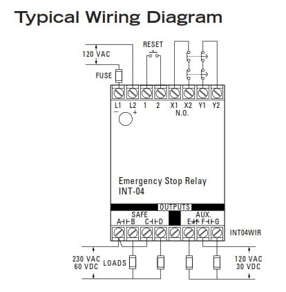 04 60 wiring diagram how to install sentrol integrity series int 04 emergency stop  int 04 emergency stop