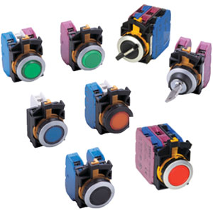 IDEC CW Series 22mm Flush Mount Switches & Pilot Devices Distributors