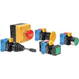 IDEC HW Series 22mm Pushbuttons & Pilot Devices Distributors