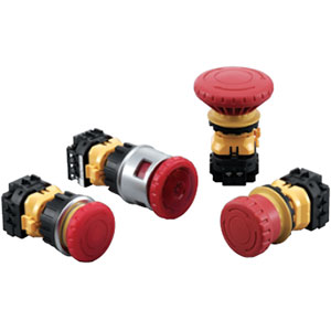 IDEC XN Series 30mm Emergency Stop Switches Distributors