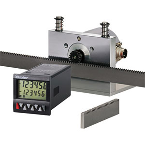Kubler Length Measuring Devices with Rack & Pinion Distributors