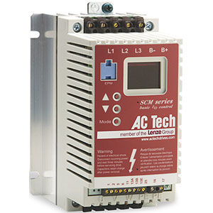 AC Tech SCM Series Drives Distributors