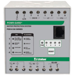 Littelfuse PGR-6150 Motor Protection System Distributors