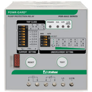 Littelfuse PGR-6800 Pump Protection Relays Distributors