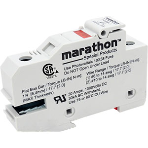 Marathon Special Products Photovoltaic Fuse Holders Distributors