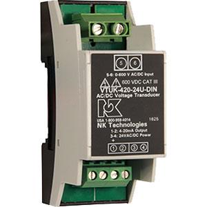 NK Technologies VTU-DIN AC/DC Voltage Transducers Distributors