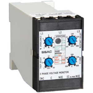 Littelfuse/SSAC DLMU Voltage Monitors Distributors