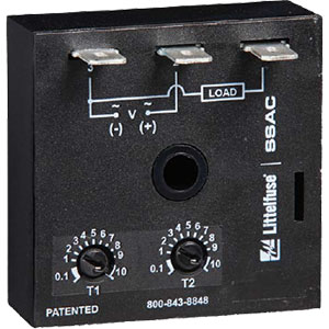 Littelfuse/SSAC Recycle Time Delay Relays Distributors