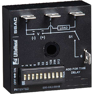 Littelfuse/SSAC Single Shot Time Delay Relays Distributors