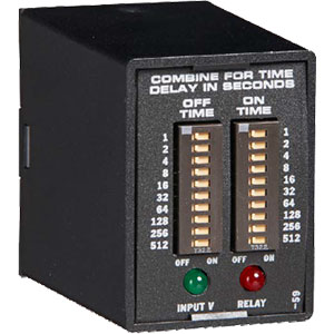 Ssac Tdr Relay Output Recycling Timer on Solid State Delay Timer