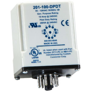 Littelfuse/SymCom 201-XXX-DPDT 3-Phase Voltage/Phase Monitors Distributors
