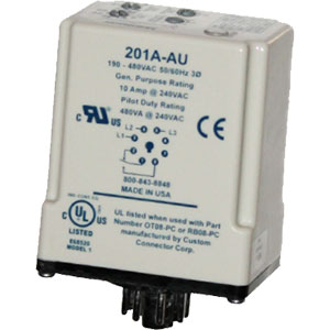 Littelfuse/SymCom 201A-AU 3-Phase Voltage/Phase Monitors Distributors