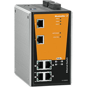 Weidmuller PoE Switches Distributors