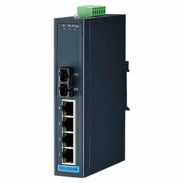 Advantech 5-port Unmanaged Ethernet Switch