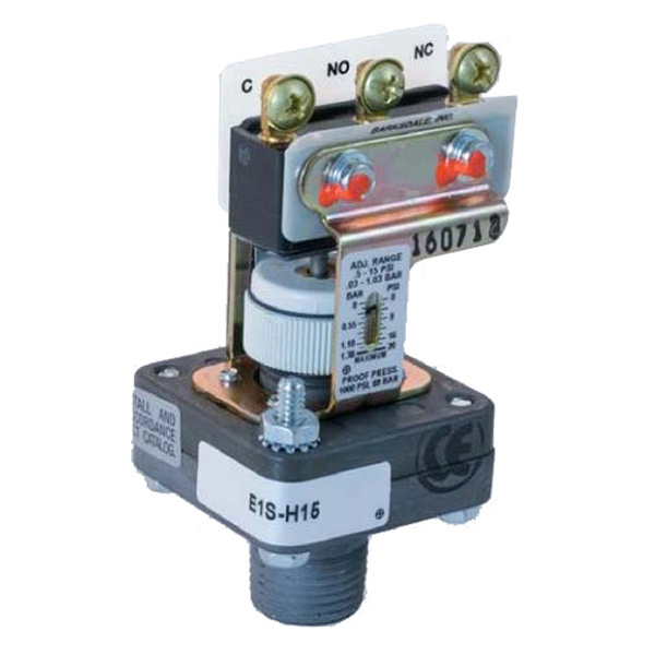Barksdale Pressure Switch
