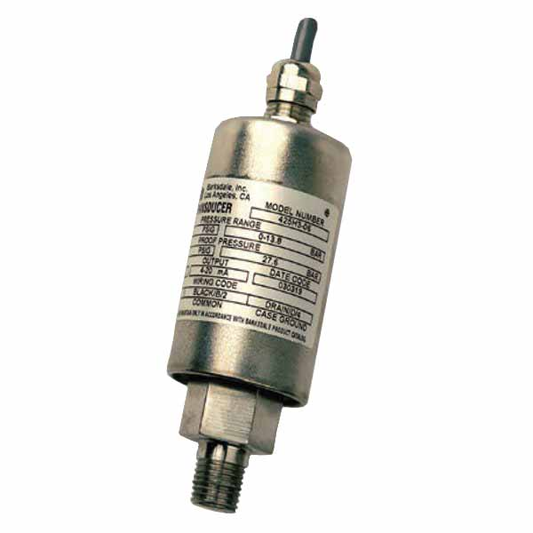Barksdale General Industrial Transducer 423T2-04-A