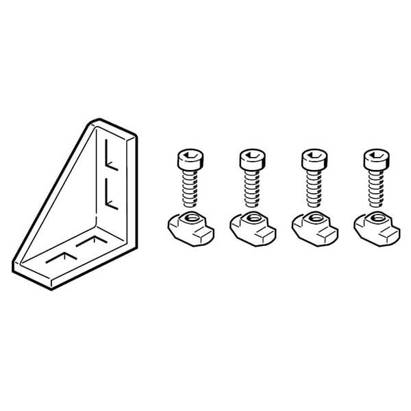 BOSCH gusset with 4 fastening slots  3842523541