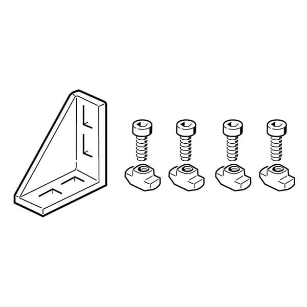 BOSCH gusset with fasteners  3842523520