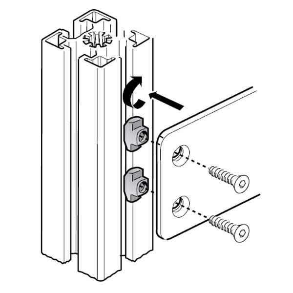 Bosch Rexroth UNC T nut 8981021323