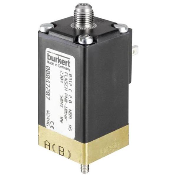 Burkert Type 0312 Plunger Solenoid Valve