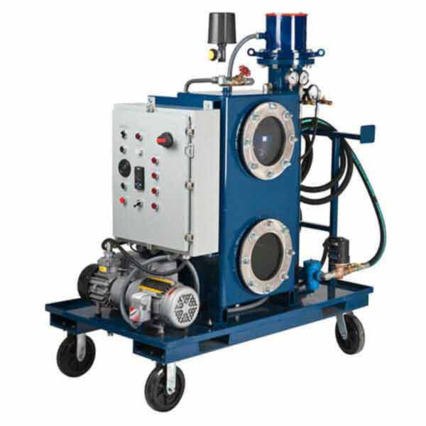 Des-Case Vacuum Dehydrator