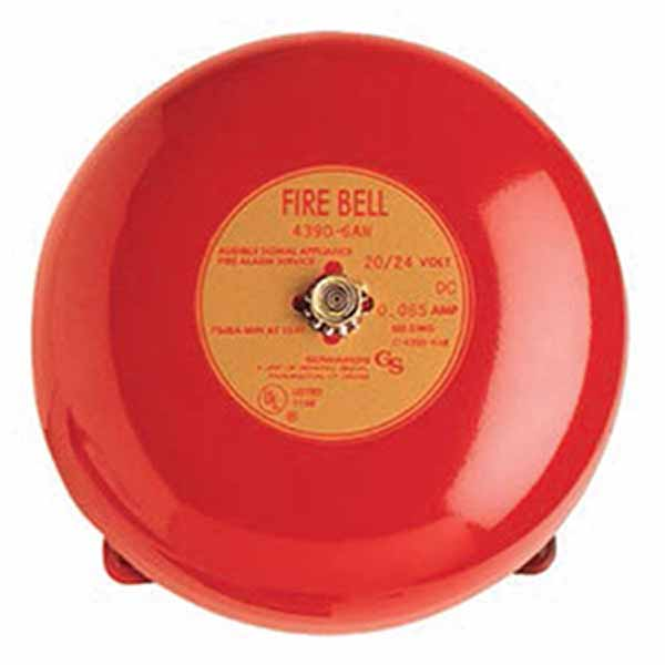 Kidde red vibrating bell