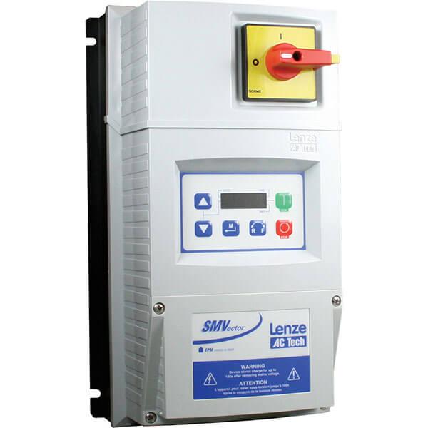 AC Tech Lenze ESV222N06TMC 480/600 VAC Nema 4X (IP65) Indoor 3 HP VFD