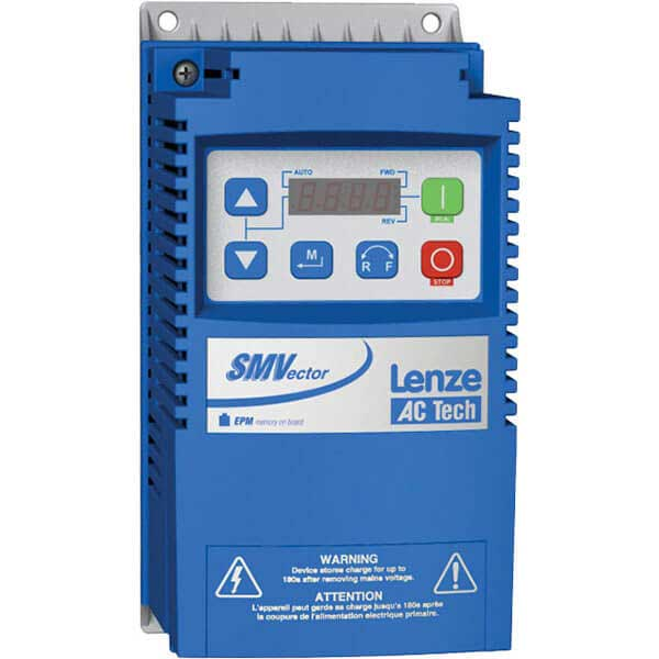 AC Tech Lenze ESV112N04TXB 400/480 VAC Nema 1 (IP31) 1.5 HP VFD