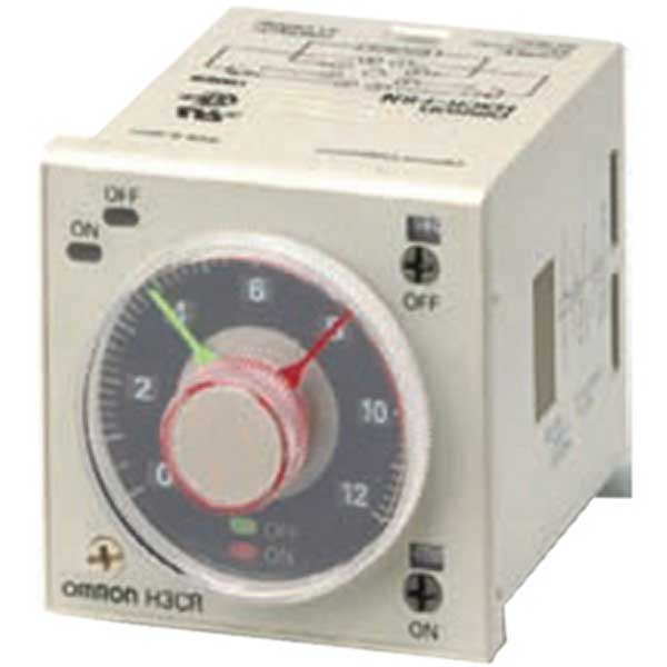 Omron Solid-State Analog Timer ON Start H3CR-F8N AC100-240/DC100-125