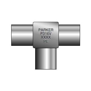 Parker MiniButtweld 8-8-8 MJM-SSV .049-PE