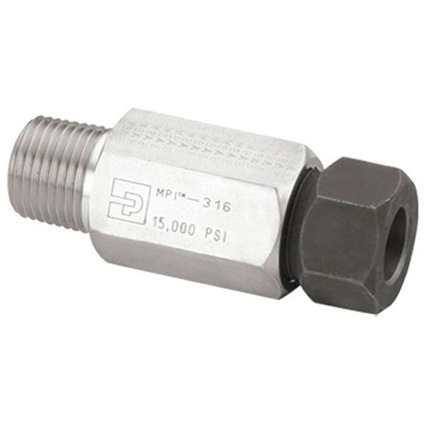 Parker 12-8 FBMP7-SS Medium Pressure Connector Fitting