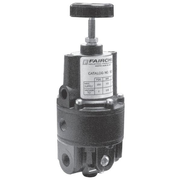 rotork fairchild model 16 pneumatic precision vacuum regulator