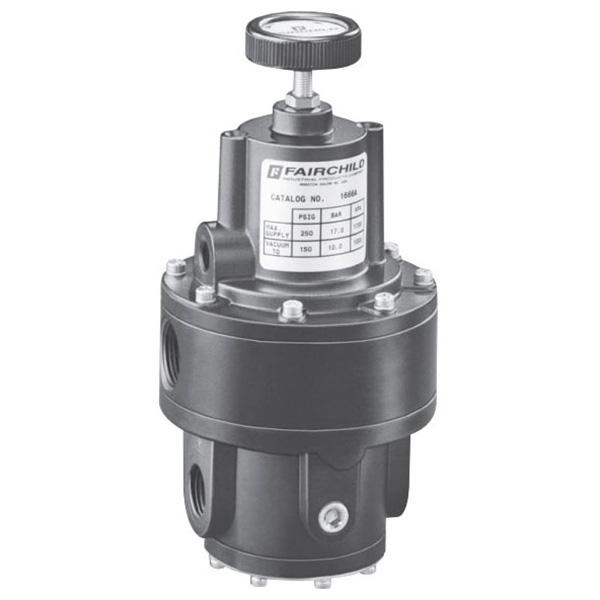 rotork fairchild model 1600a pneumatic precision vacuum regulator