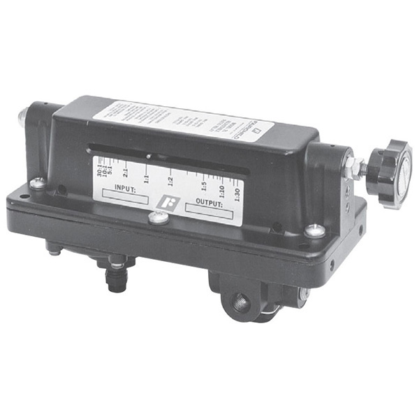 rotork fairchild pneumatic adjustable ratio bias relay