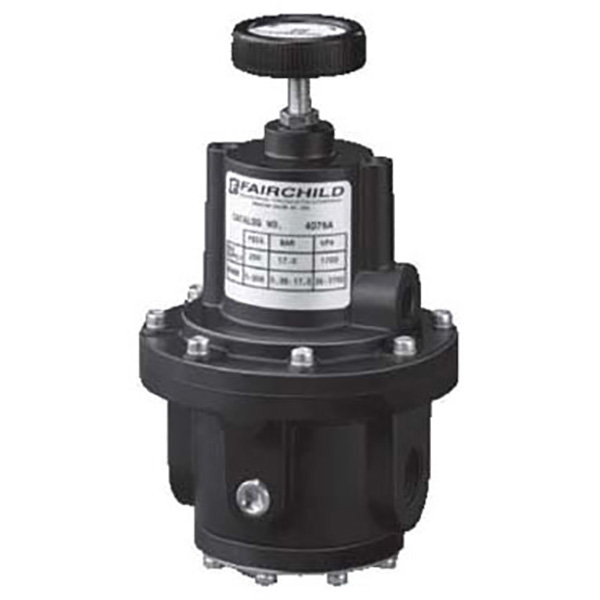rotork fairchild pneumatic high pressure regulator 4000a