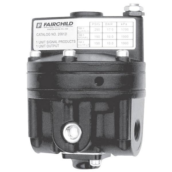 rotork fairchild pneumatic volume booster