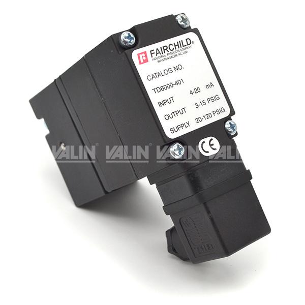 Fairchild TD6000-401 Electro-Pneumatic Transducer