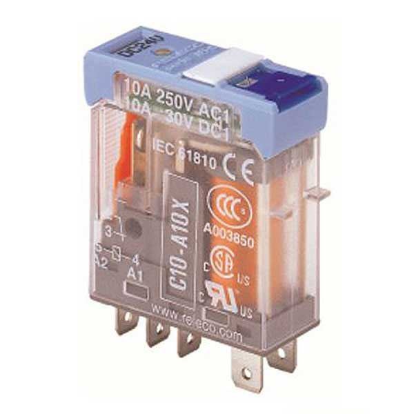 C10-A10X/024VAC TURCK Releco 1-Pole Changeover 24 VAC Interface Relay