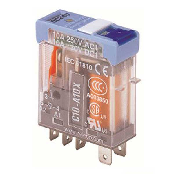 C10-A10X/024VDC TURCK Releco 1-Pole Changeover Ice Cube 24 VDC Interface Relay