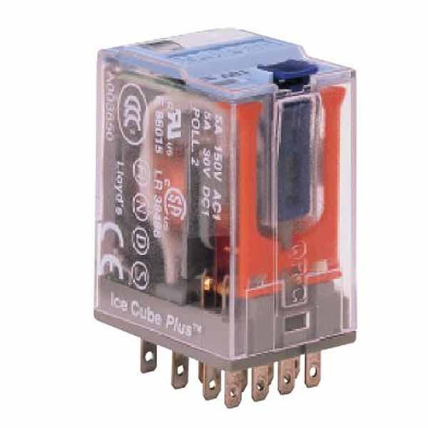 C9-A41FX/024VDC TURCK Releco 4-Pole Relay 14-Pin 24 VDC Mini Interface Relay