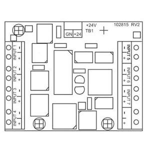 Walchem 191042 Water Treatment Controller Input Option Card