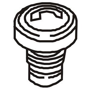 Walchem EH0299 Metering Pump Manual Air Vent Valve Knob