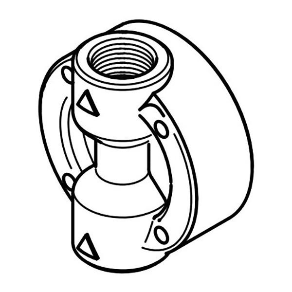 Walchem EH1953 Electronic Metering Pump Head