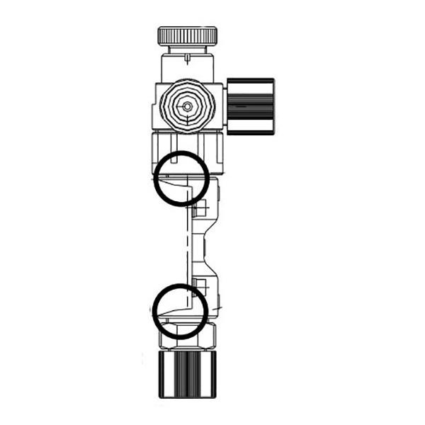 Walchem NZB11PE Electronic Metering Pump Head Assembly