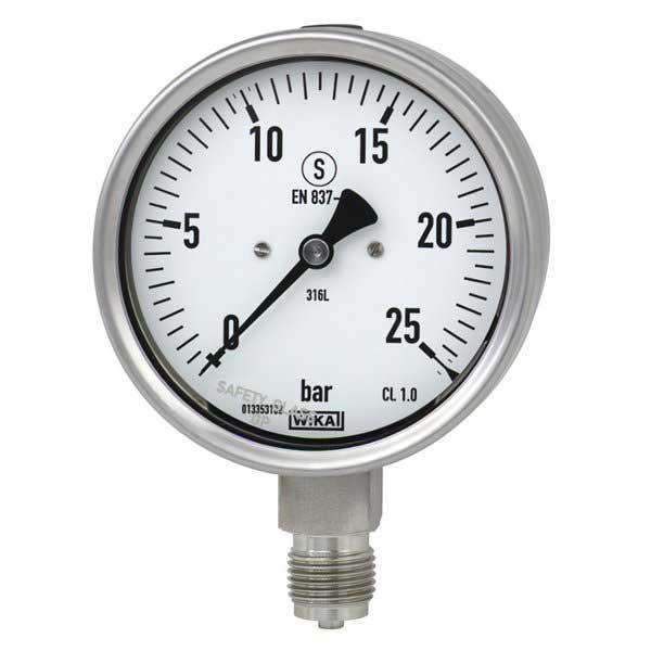 WIKA 232-34 Bourdon Tube Pressure Guage 9240160