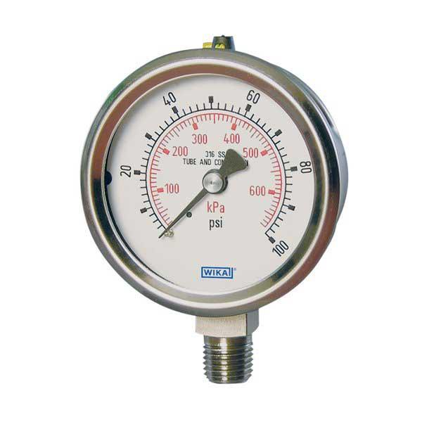 WIKA 23X-53 SS Pressure Guage 9768254